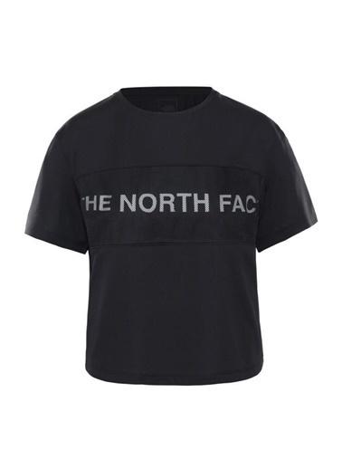 The North Face Train N Logo Kadın T-Shirt Siyah Renkli